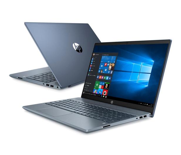 HP Pavilion 15 i7-1065G7/8GB/512/Win10 MX250 Blue - 533356 - zdjęcie