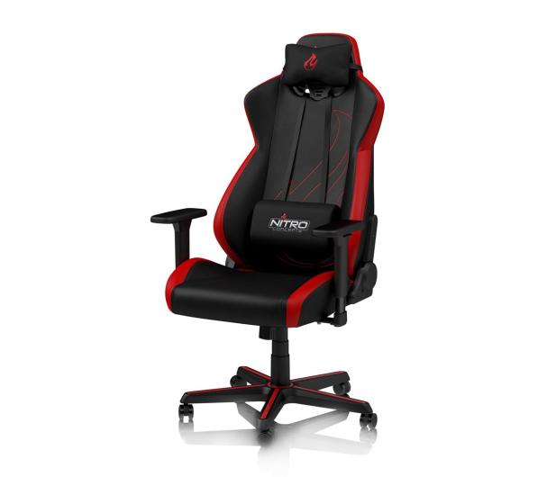 Nitro Concepts S300 EX Gaming (Czarno-Czerwony) - 502535 - zdjęcie