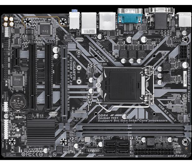 Gigabyte H310M S2P 2.0(rev. 1.0)  - 503456 - zdjęcie 3