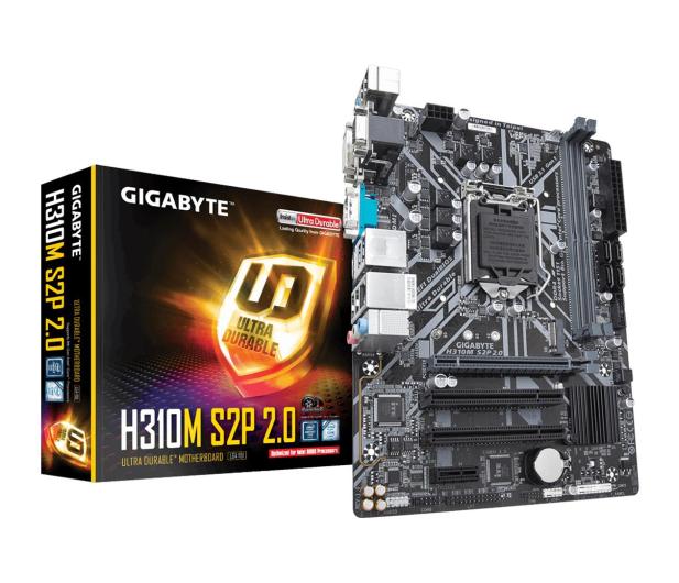 Gigabyte H310M S2P 2.0(rev. 1.0)  - 503456 - zdjęcie