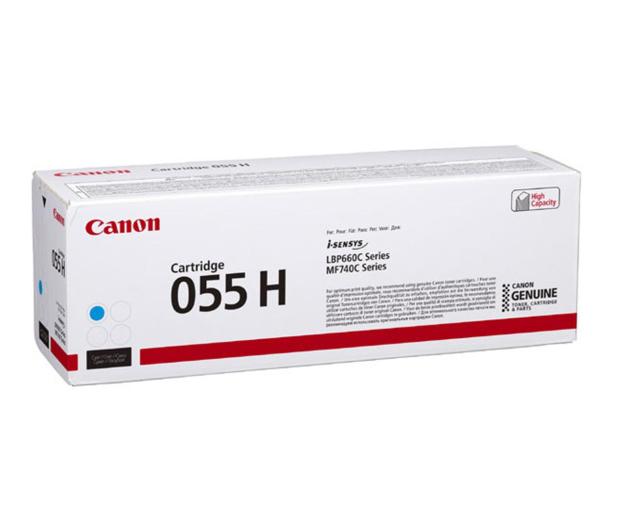 Canon 055H cyan 5900str.  - 502878 - zdjęcie