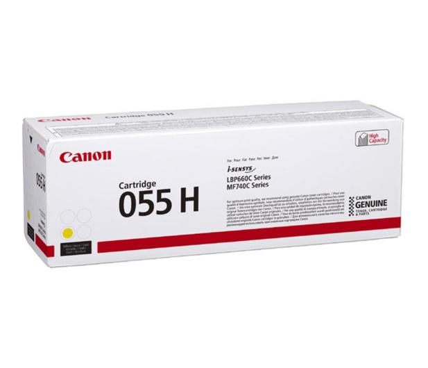 Canon 055H yellow 5900str. (3017C002) - 502880 - zdjęcie