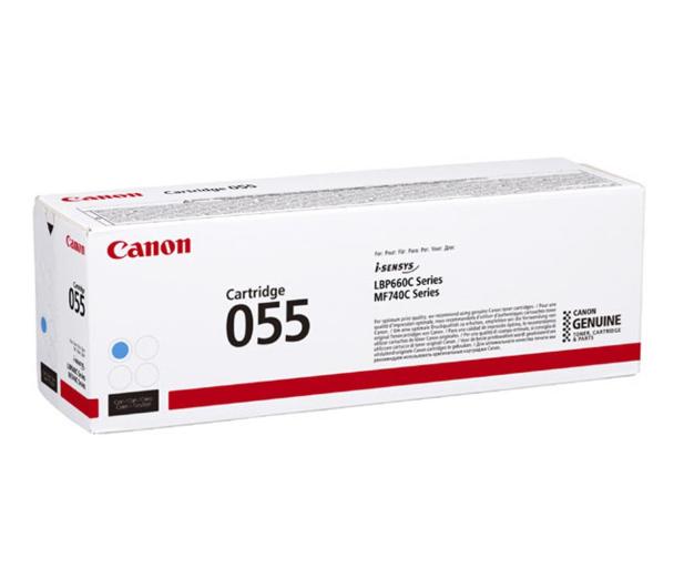 Canon 055 cyan 2100str. (3015C002) - 502865 - zdjęcie
