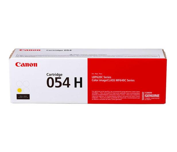 Canon 054H yellow 2300str.  - 502889 - zdjęcie