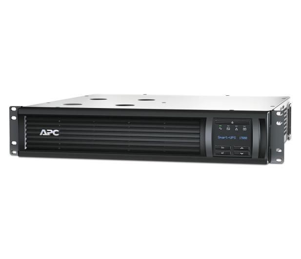 APC Smart-UPS (1500VA/1000W, 4xIEC, AVR, LCD, RACK) - 503156 - zdjęcie 2