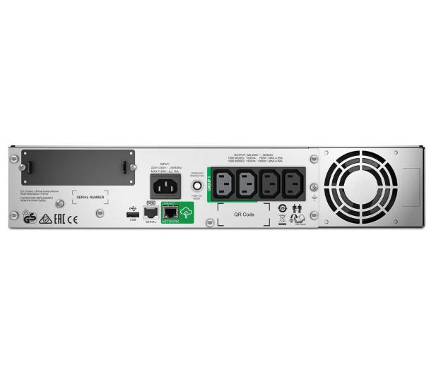 APC Smart-UPS (1500VA/1000W, 4xIEC, AVR, LCD, RACK) - 503156 - zdjęcie 3
