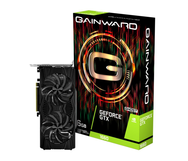 Gainward GeForce GTX 1660 Ghost 6GB GDDR5 - 498895 - zdjęcie