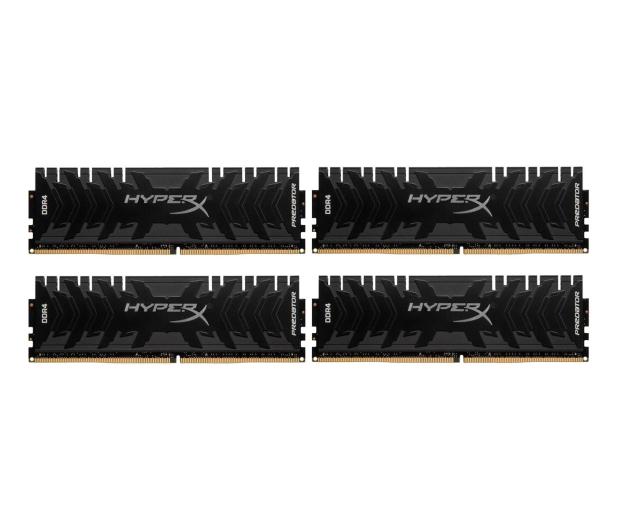 HyperX 32GB (4x8GB) 3000MHz CL15 Predator Black  - 309449 - zdjęcie