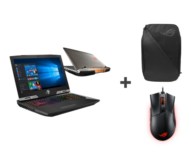 ASUS ROG G703 GRIFFIN i7-9750H/32GB/512+1TB/Win10P - 493004 - zdjęcie