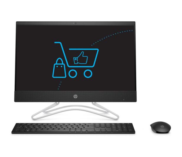 HP 22 AiO i3-8130/8GB/256+1TB IPS Black  - 498100 - zdjęcie