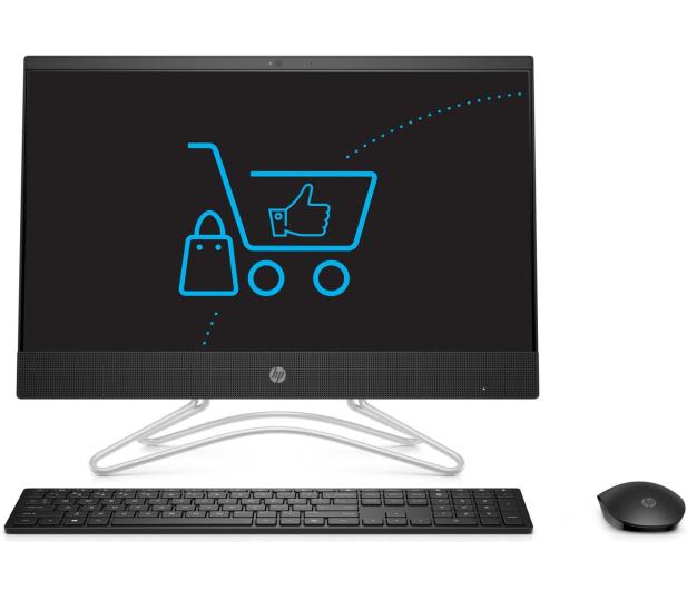 HP 22 AiO i3-8130/8GB/256+1TB IPS Black  - 498100 - zdjęcie 3