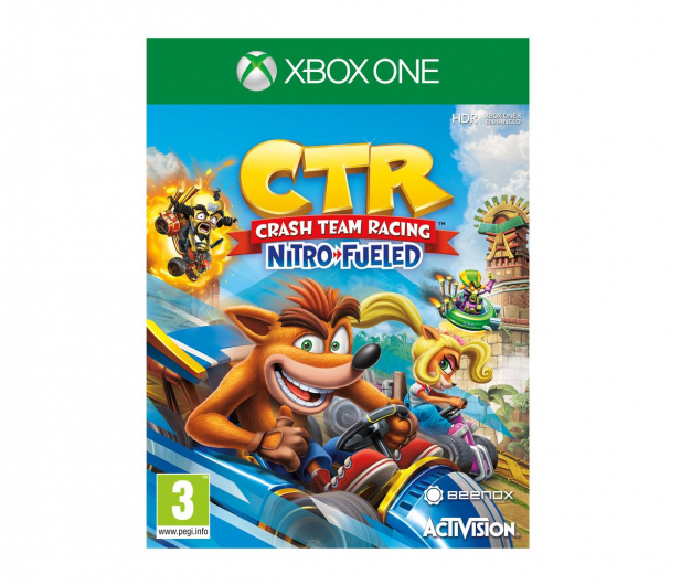 CENEGA Crash Team Racing Nitro-Fueled - 469393 - zdjęcie