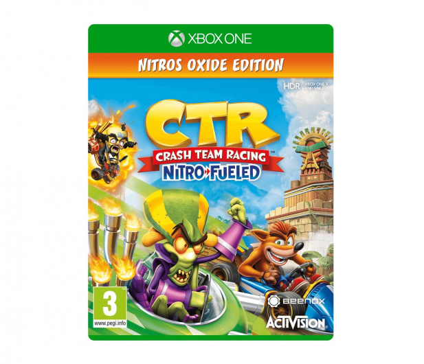 Xbox Crash Team Racing Nitro-Fueled Nitros Oxide Ed. - 490540 - zdjęcie