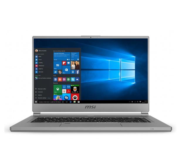 MSI P65 i7-9750H/16GB/512/Win10 RTX2060 - 499927 - zdjęcie