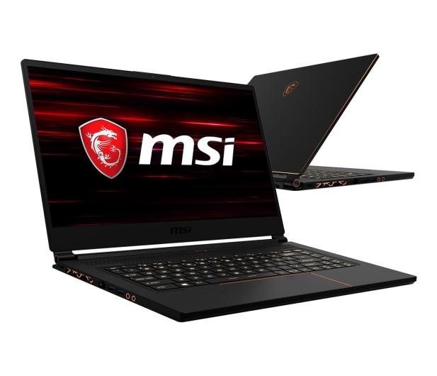 MSI GS65  i7-9750H/16GB/512 RTX2060 144Hz - 499945 - zdjęcie