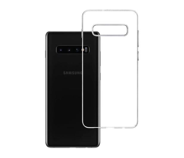 3mk Clear Case do Samsung Galaxy S10+ - 500022 - zdjęcie