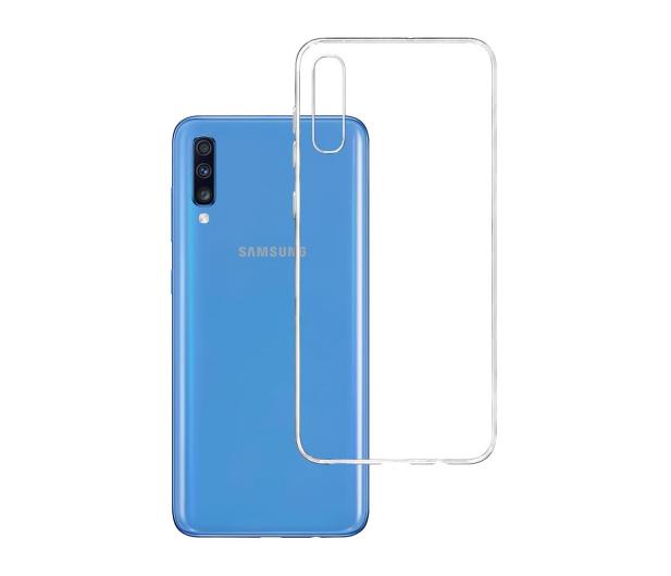 3mk Clear Case do Samsung Galaxy A70 - 500020 - zdjęcie