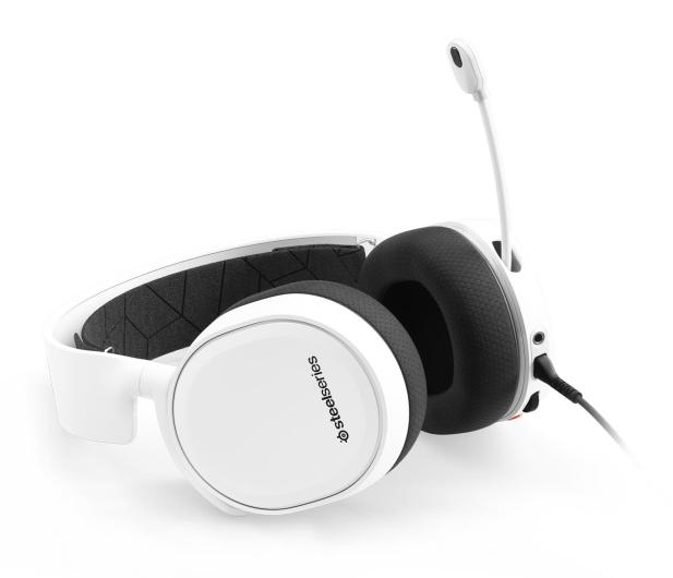 SteelSeries Arctis 3 Białe - 338180 - zdjęcie 4