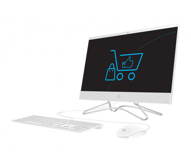 HP 24 AiO A9-9425/4GB/240 IPS White - 501956 - zdjęcie 3