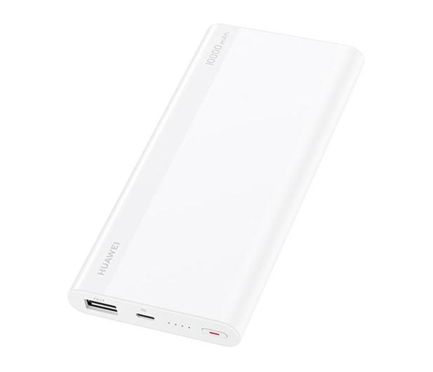 Huawei Power Bank CP11QC 10000 mAh 9V/5V2A 18W biały - 497082 - zdjęcie