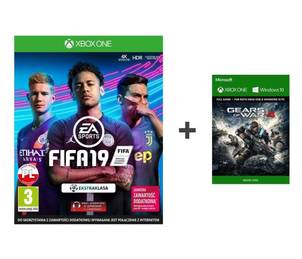Microsoft Fifa 19 + Gears of War 4 - 500168 - zdjęcie