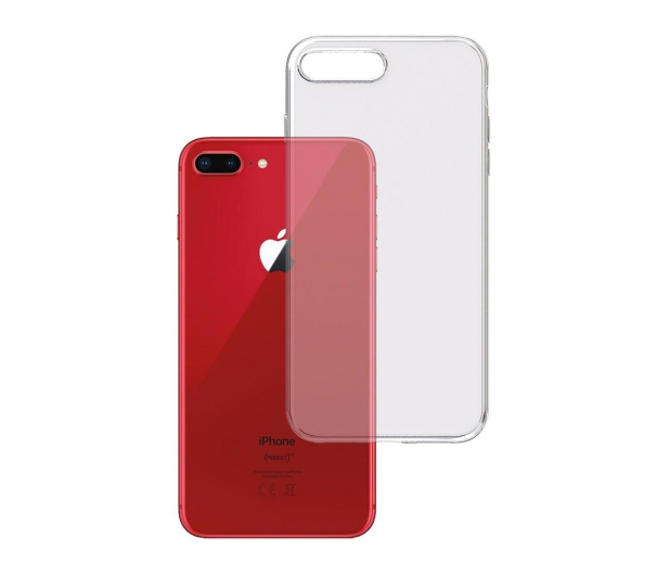 3mk Clear Case do iPhone 7/8 Plus  - 499982 - zdjęcie