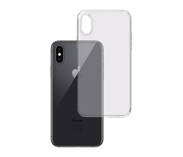 3mk Clear Case do iPhone X/Xs - 499985 - zdjęcie