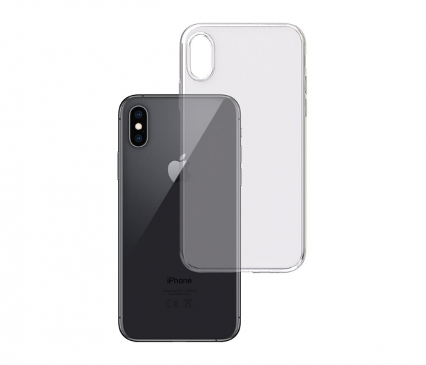 3mk Clear Case do iPhone Xs MAX - 499986 - zdjęcie