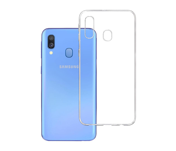 3mk Clear Case do Samsung Galaxy A40  - 500018 - zdjęcie