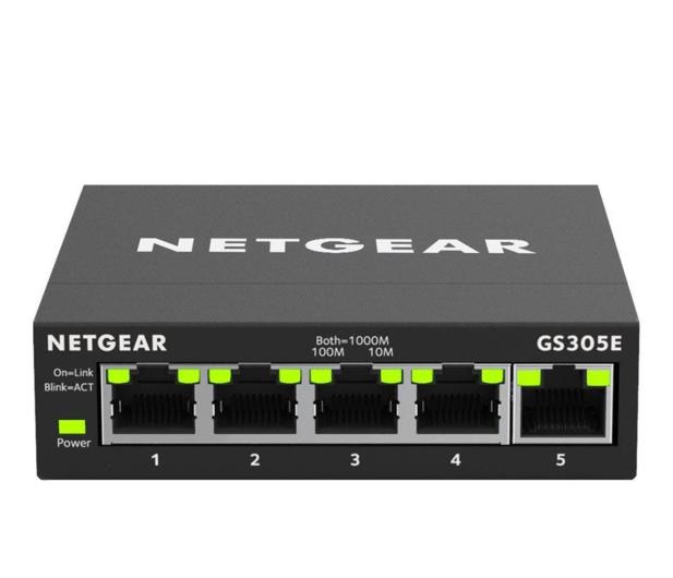 Netgear 5p GS305E (5x10/100/1000Mbit)  - 495132 - zdjęcie