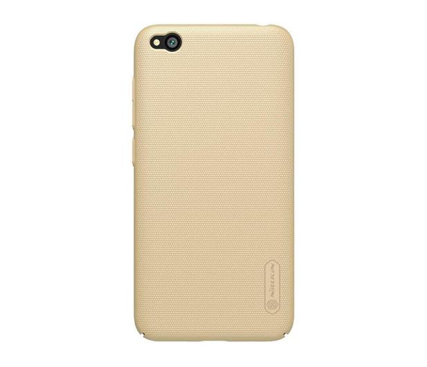 Nillkin Super Frosted Shield do Xiaomi Redmi Go złoty - 505303 - zdjęcie