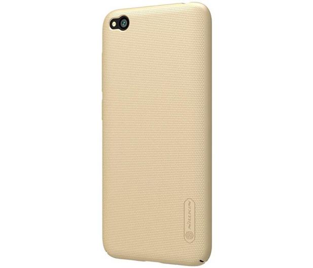 Nillkin Super Frosted Shield do Xiaomi Redmi Go złoty - 505303 - zdjęcie 2