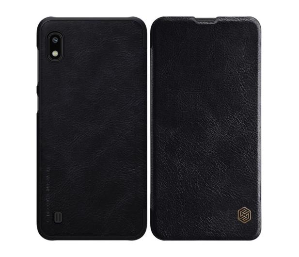 Nillkin Etui Skórzane Qin do Samsung Galaxy A10 czarny  - 505297 - zdjęcie