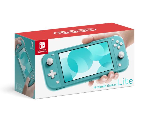 Nintendo Switch Lite (Morski) + Zelda: Link's Awakening - 521185 - zdjęcie 3