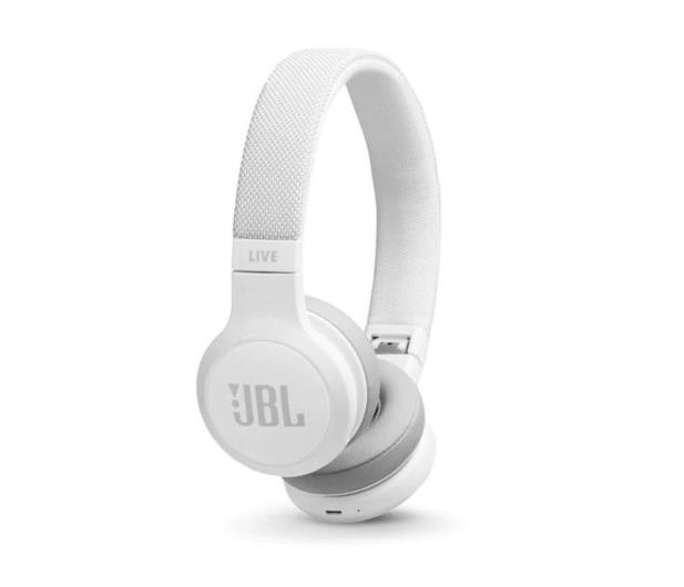 JBL LIVE 400BT Białe - 473597 - zdjęcie