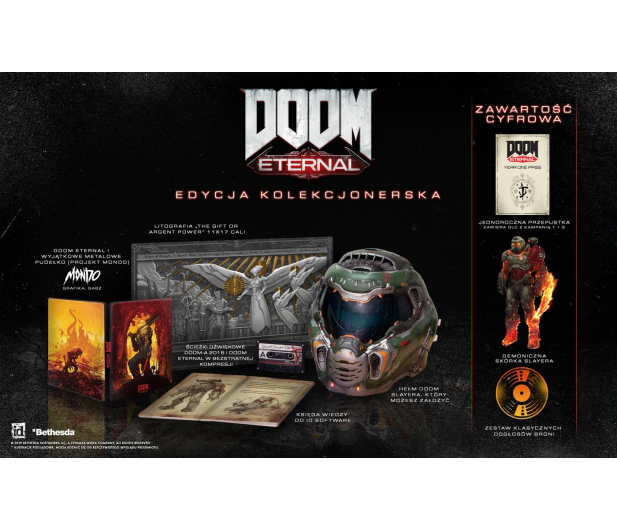PlayStation Doom Eternal Collector's Edition - 505985 - zdjęcie 3