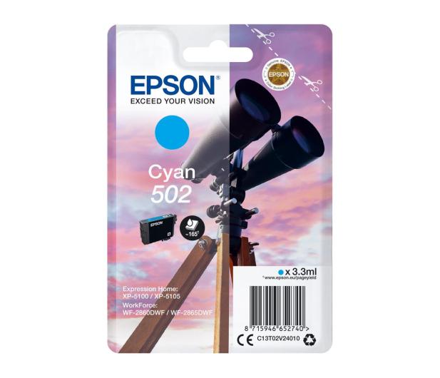 Epson 502 INK Cyan - 505660 - zdjęcie