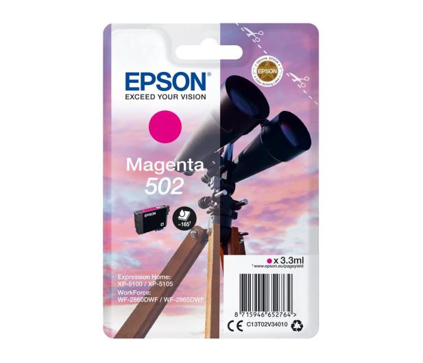 Epson 502 INK Magenta - 505662 - zdjęcie