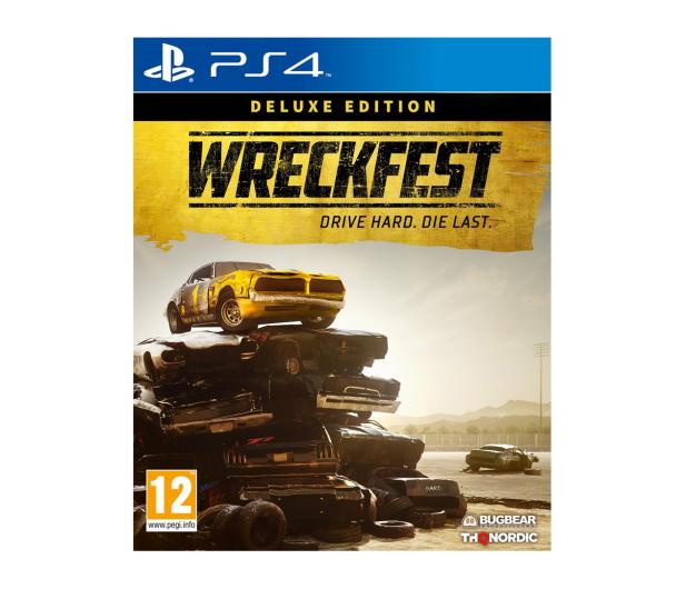 CENEGA Wreckfest Deluxe Edition - 506010 - zdjęcie