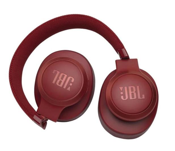 JBL LIVE 500BT Czerwone - 473607 - zdjęcie 2