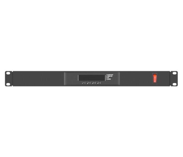 """Lanberg Panel wentylacyjny do szafy 19"""" 230V (czarny) - 506167 - zdjęcie 4"""