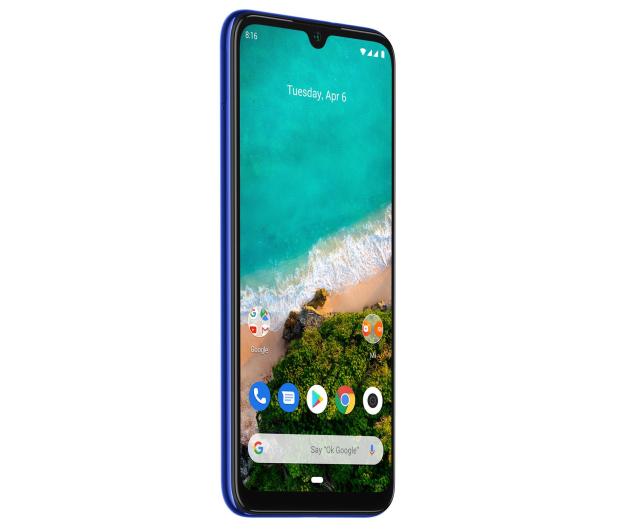 Xiaomi Mi A3 4/128GB Blue - 506333 - zdjęcie 4