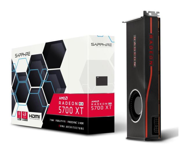 Sapphire Radeon RX 5700 XT 8GB GDDR6 - 506572 - zdjęcie