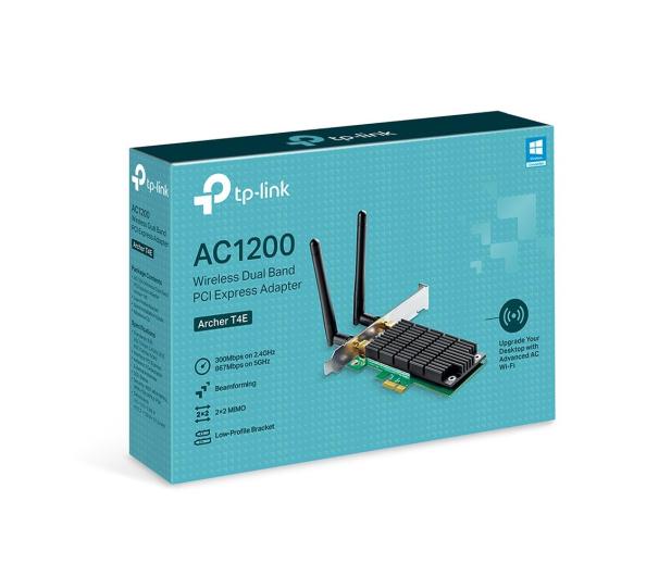 TP-Link Archer T4E (802.11b/g/n/ac 1200Mb/s) DualBand  - 506774 - zdjęcie 2