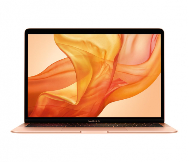 Apple MacBook Air i3/8GB/256/Iris Plus/Mac OS Gold - 553139 - zdjęcie
