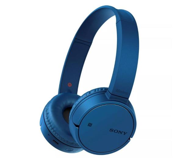 Sony WH-CH500 Niebieskie - 507056 - zdjęcie
