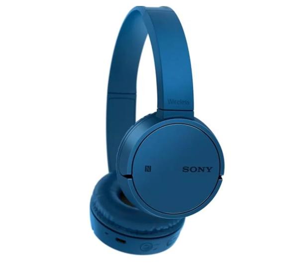 Sony WH-CH500 Niebieskie - 507056 - zdjęcie 3