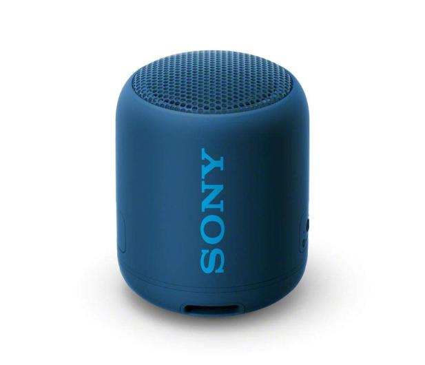Sony SRS-XB12 Niebieski - 506784 - zdjęcie