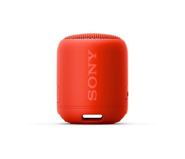Sony SRS-XB12 Czerwony - 506785 - zdjęcie 2