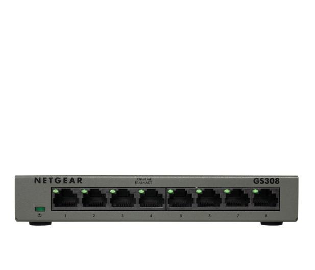 Netgear 8p GS308-300PES (8x10/100/1000Mbit)  - 503368 - zdjęcie